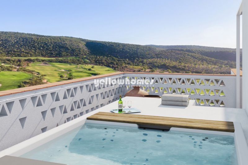 Luxury 2 bed apartment on the 3rd floor in newest golf resort near Loule
